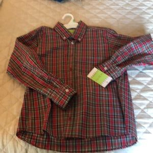 Other - NWT Le'Za Me boys size 12 Christmas button down